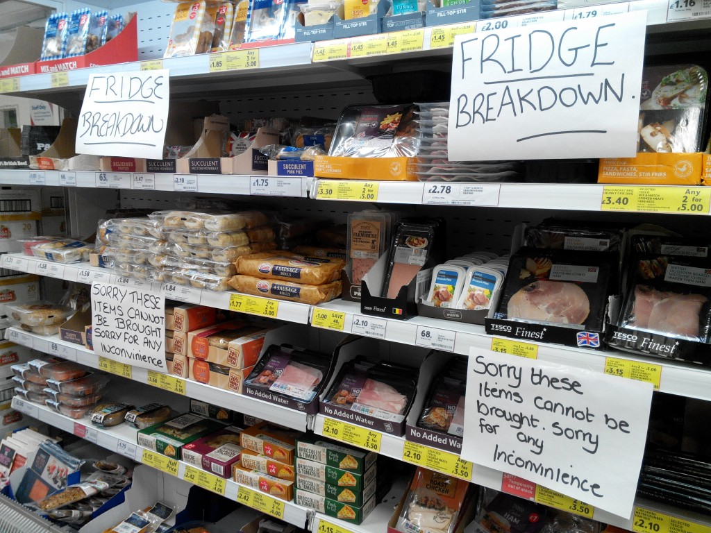 Tesco-Fridge-Signage